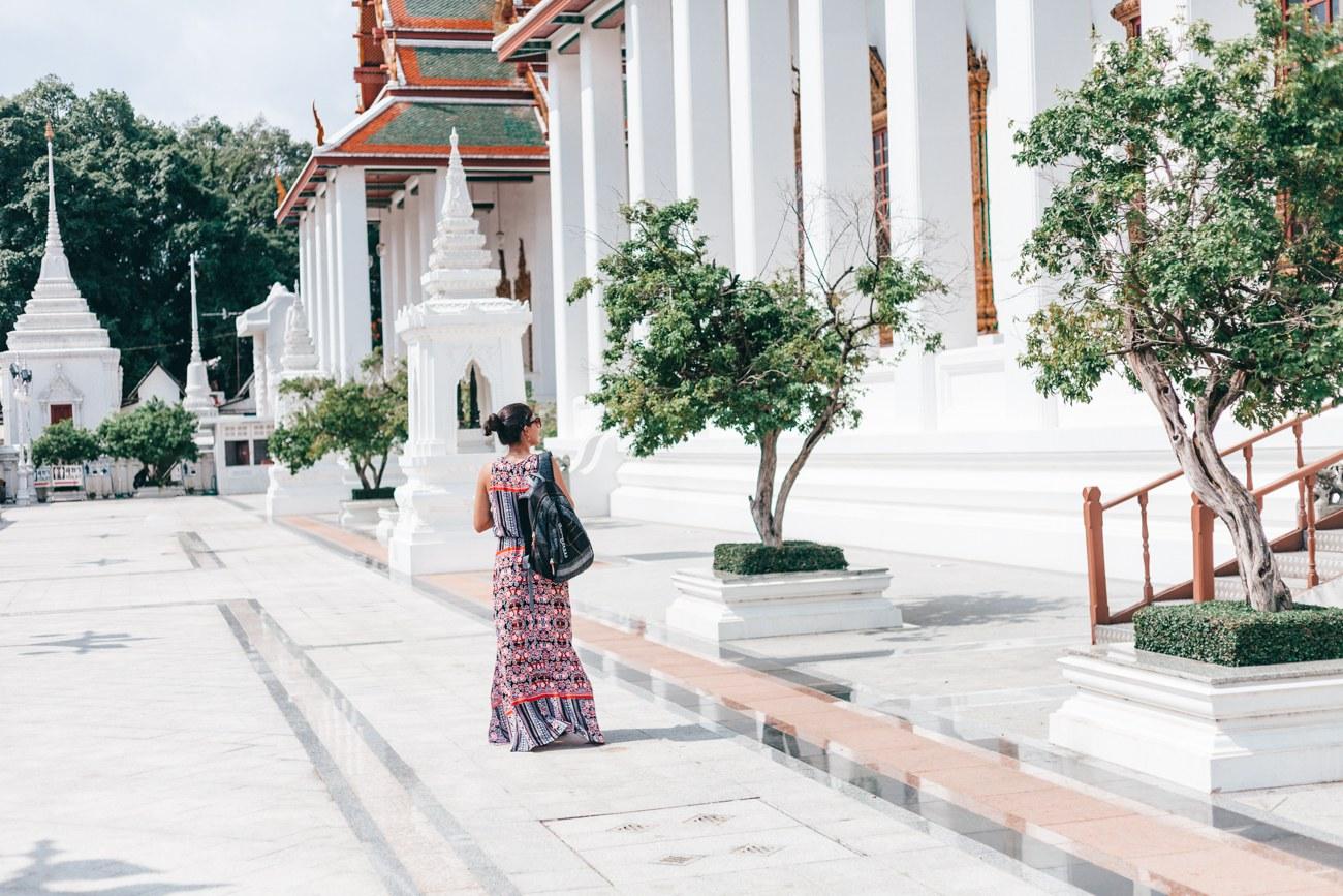 O que fazer em Bangkok - Templo budista - Wat Ratchanatdaram