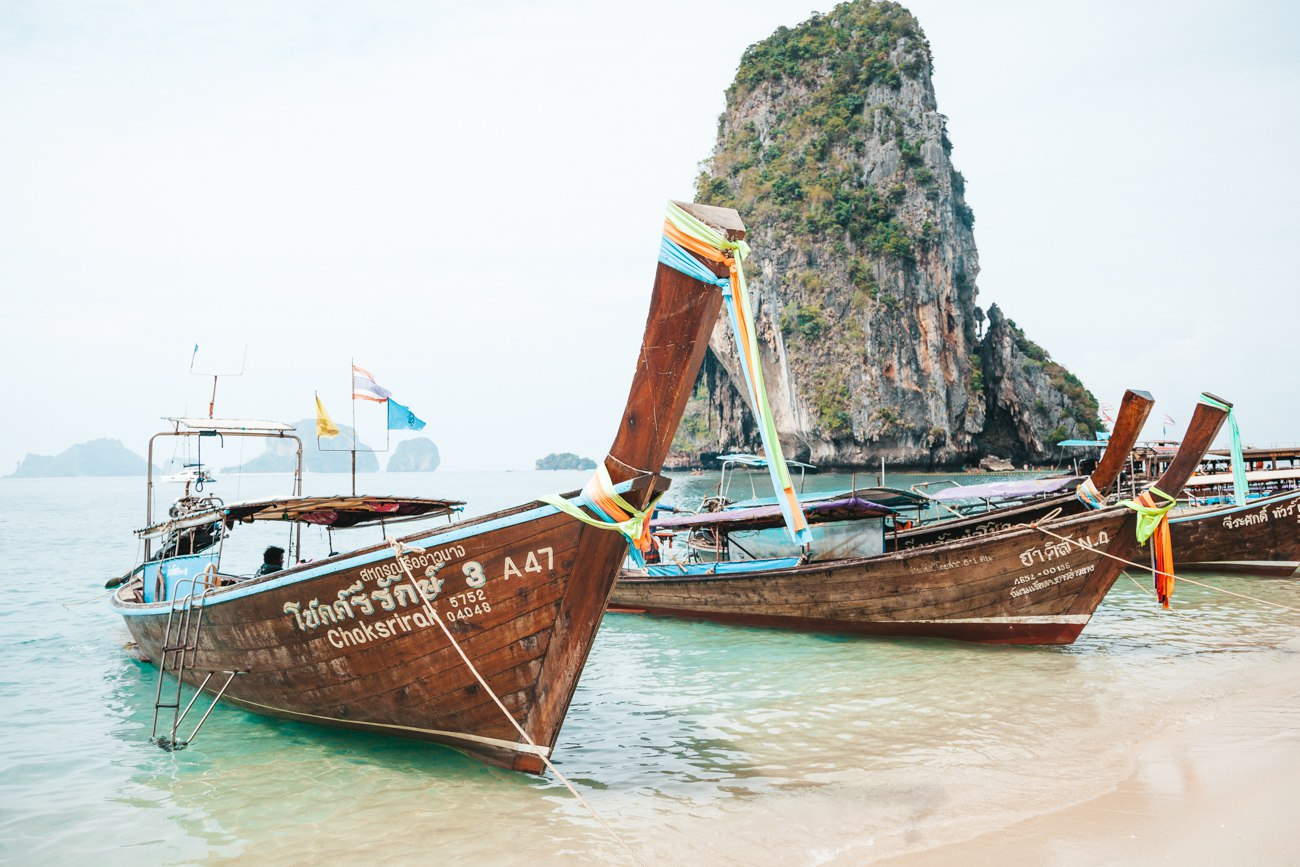 Railay Beach - longtails