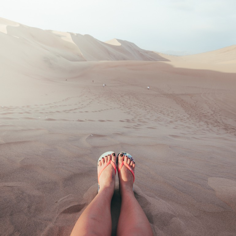 Hucachina, Peru: A imensidão do deserto