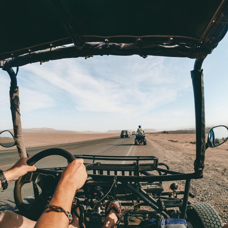 Passeio de Buggy em Paracas