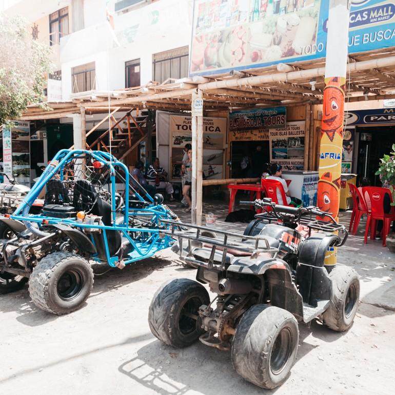 Paracas, Peru - agência Playa Roja Tours