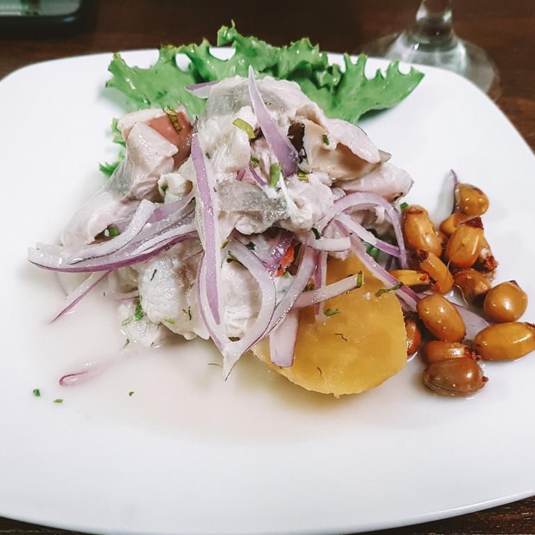 Ceviche - um dos pratos mais tradicionais do Peru