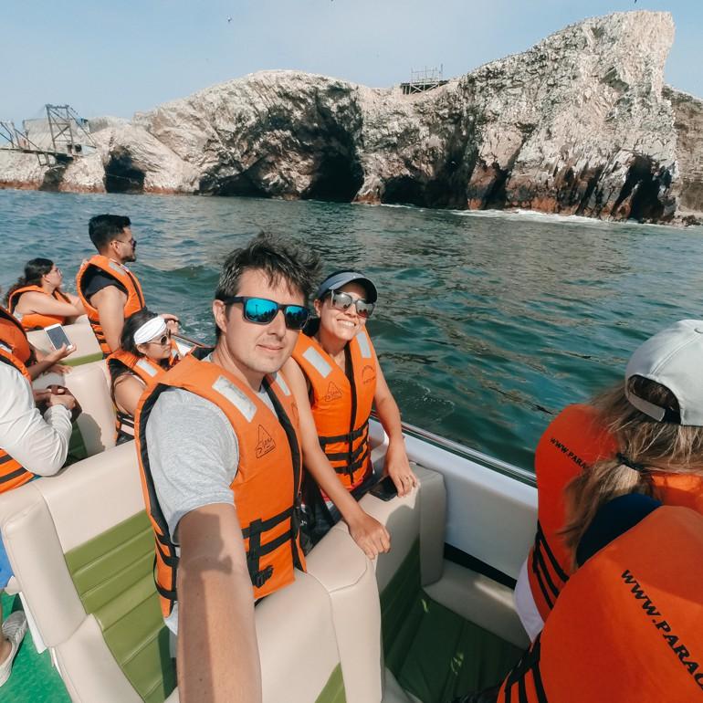 Ilhas Ballestas: parada para fotografia