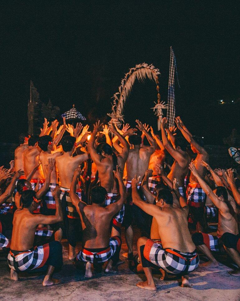 Kecak Dance, Uluwatu, Bali