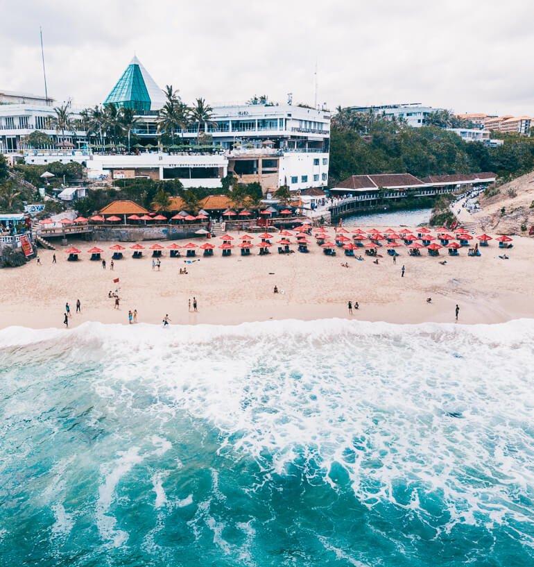 Dreamland Beach, Uluwatu, Bali