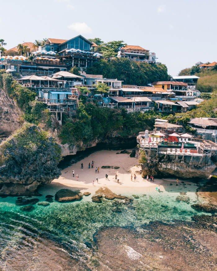 Suluban Beach, Uluwatu, Bali