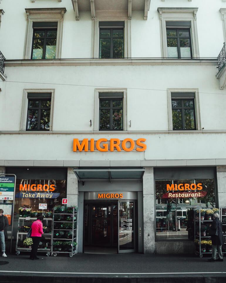 Migros O que fazer em Zurique roteiro de um dia