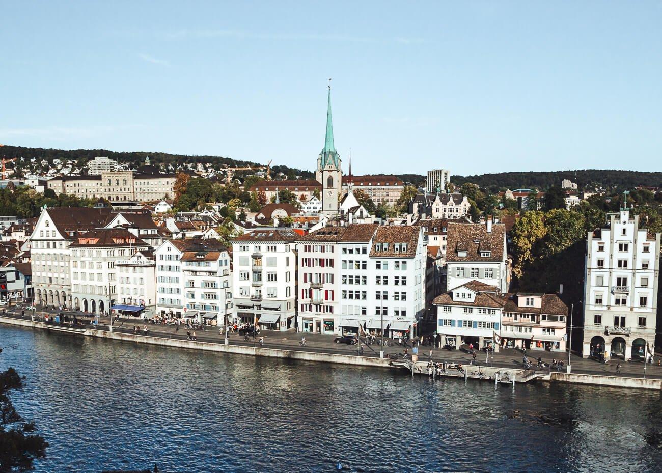 O que fazer em Zurique roteiro de um dia- Lindenhof