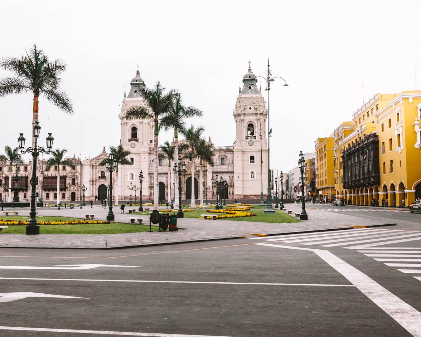 Onde ficar em Lima: Centro Histórico