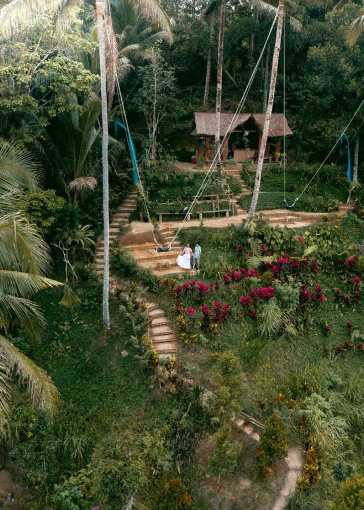 Terraços de arroz em Tegallalang