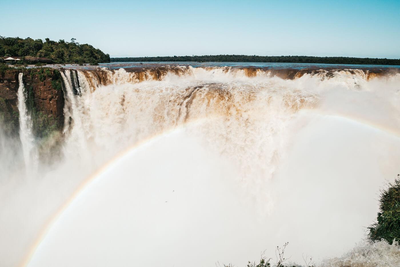 o que fazer em Foz do Iguaçu - A famosa Garganta do Diabo, no lado argentino das Cataratas