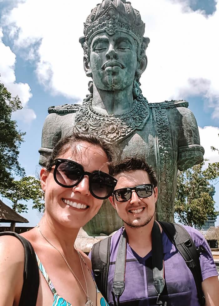 GWK - Garuda Wisnu Park - Indonésia - Bali - Uluwatu - estátua de Vishnu