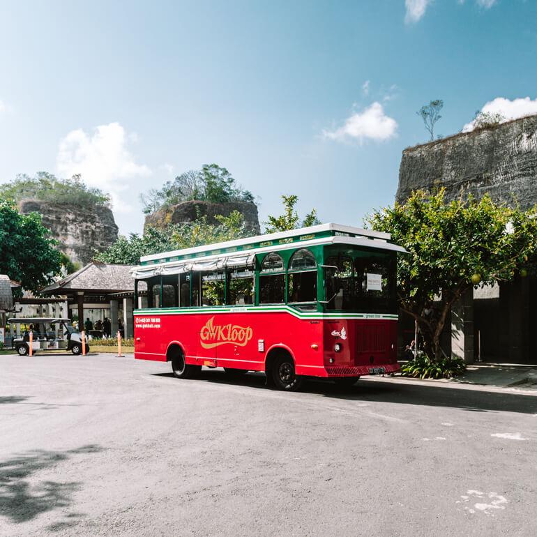 GWK - Garuda Wisnu Park - Indonésia - Bali - Uluwatu - transfer para o parque