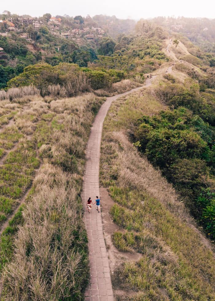 Ubud, Indonésia - Campuhan Ridge Walk
