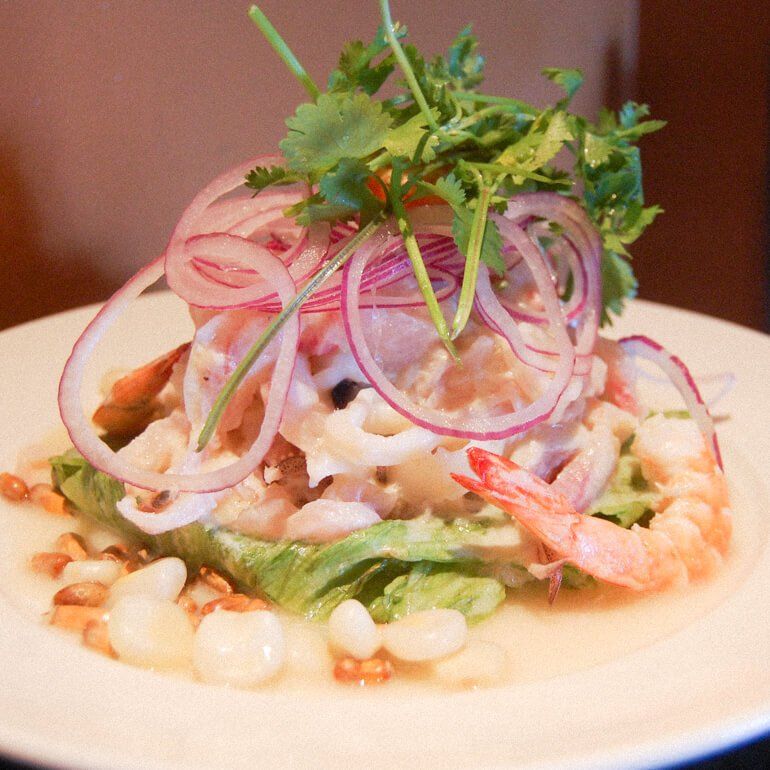 Comida peruana - Ceviche (comida típica do Peru)