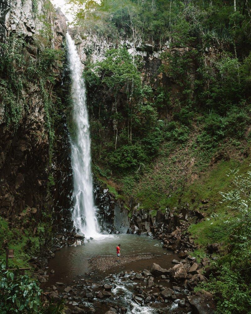Ecoparque Cassorova Brotas - cachoeira dos quatis