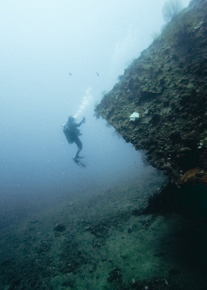 Mergulho em Amed, Ilha de Bali