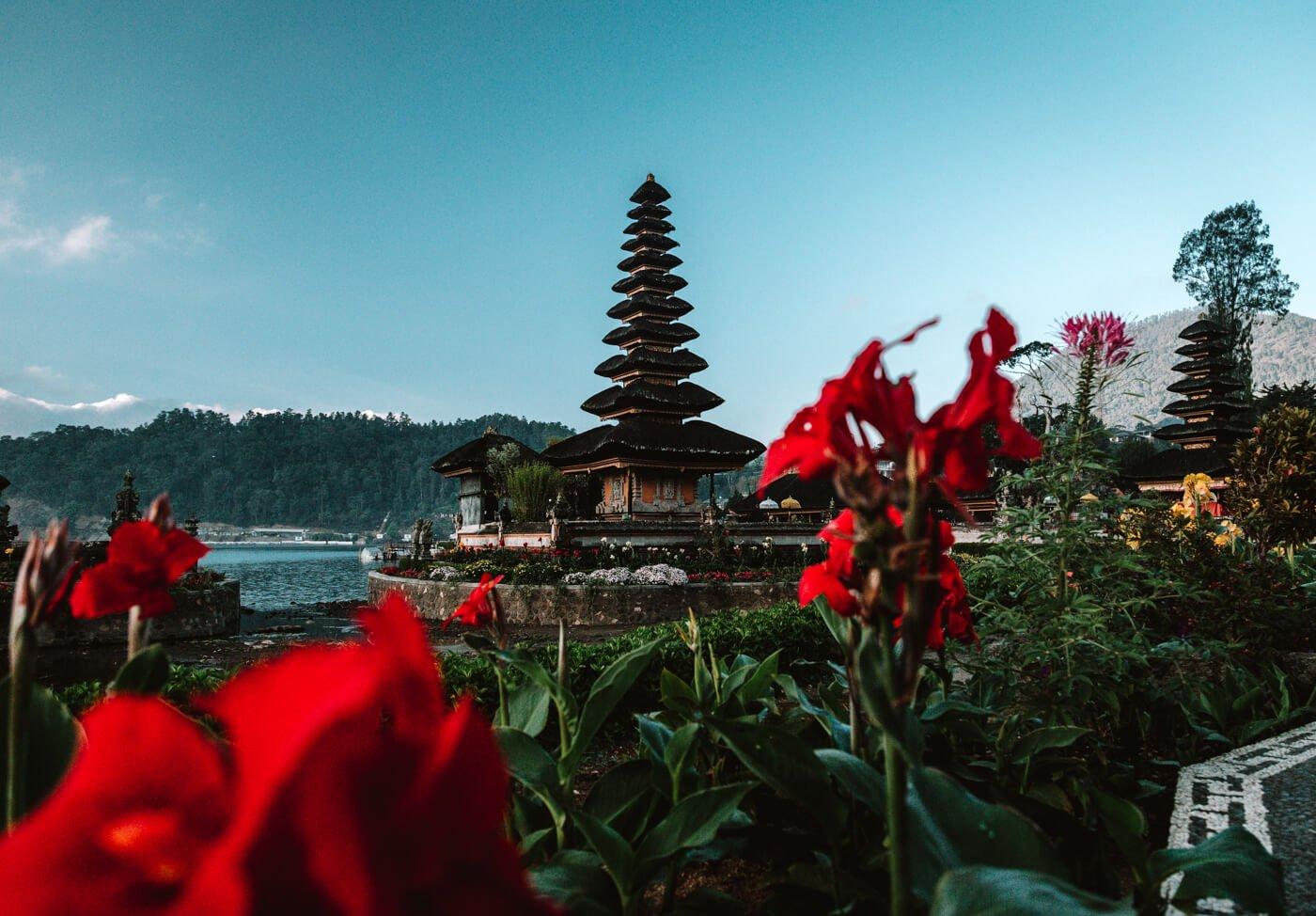 Ilha de Bali - Templo Ulun Danu Bratan