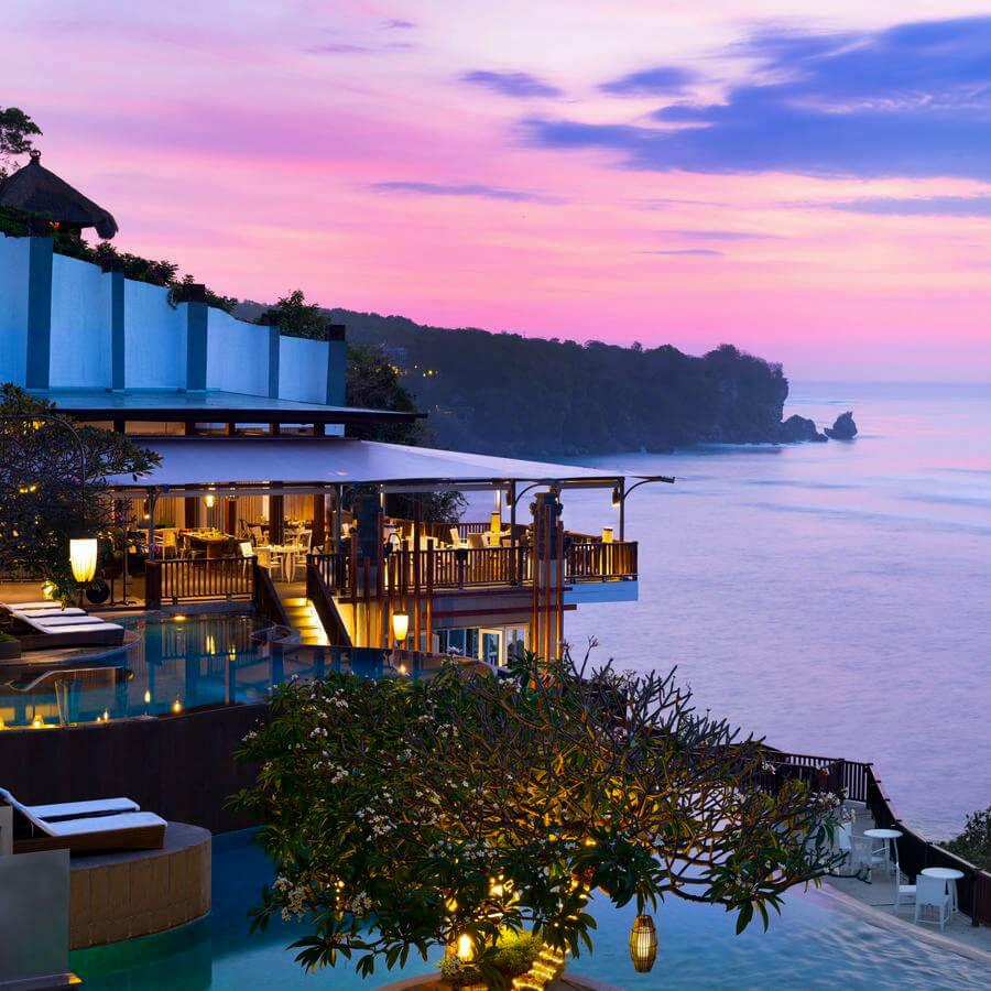 Onde ficar em Bali - Hotel Anantara Uluwatu Bali Resort