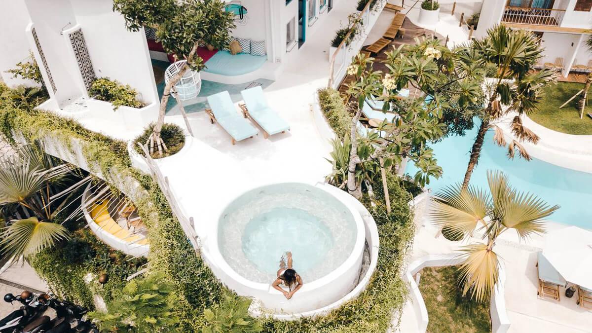 Onde ficar em Bali - Kos One