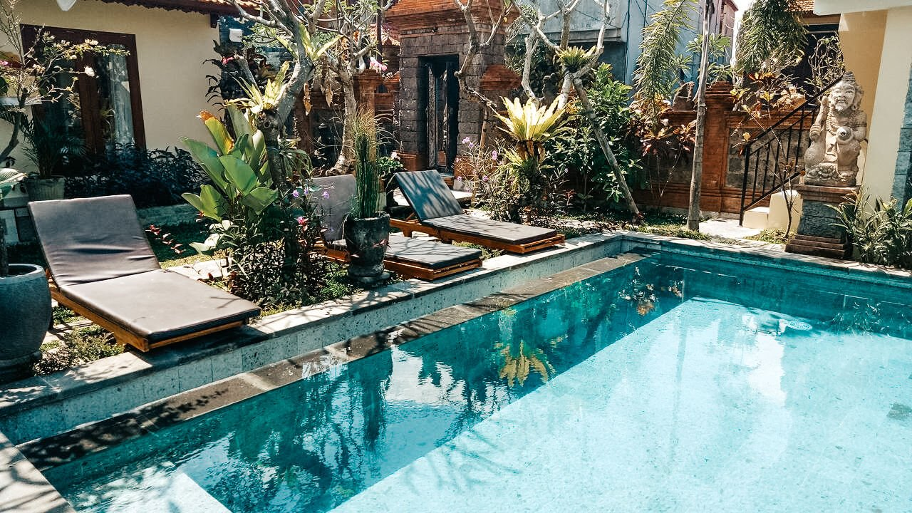 Onde ficar em Bali - hotel em Ubud
