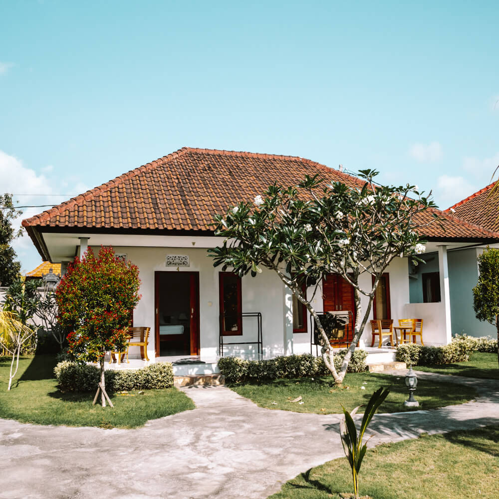 Onde ficar em Bali - Telaga Sari em Uluwatu