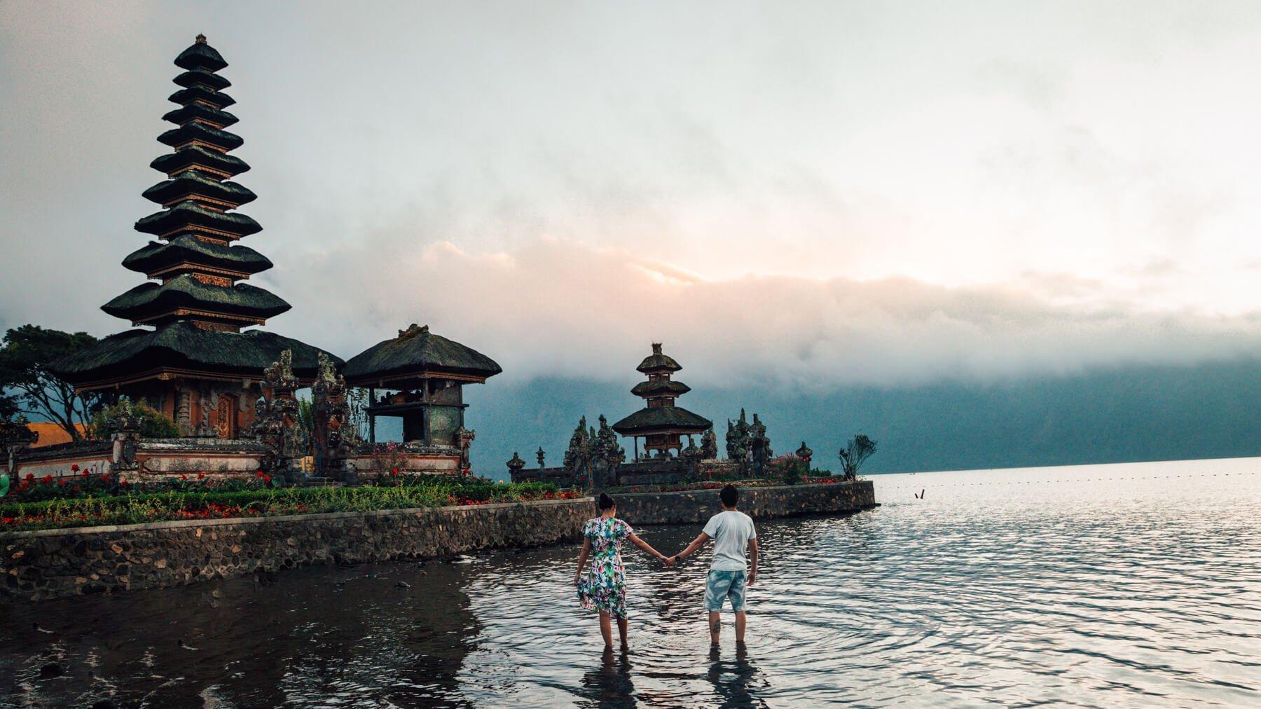 Munduk, Bali - Pura Danu Bratan