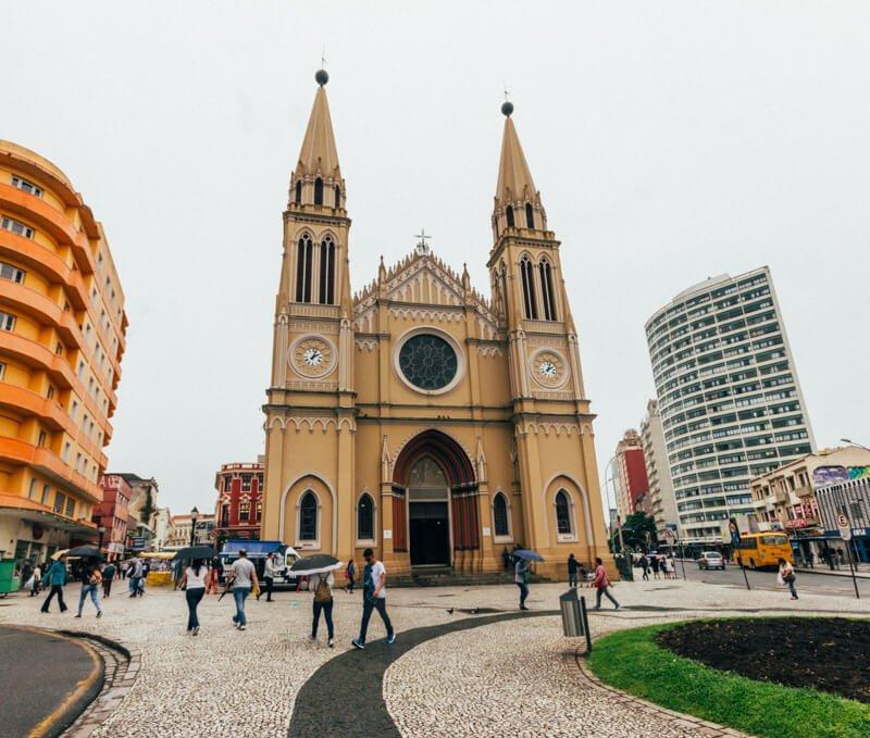 O que fazer em Curitiba - Catedral de Curitiba