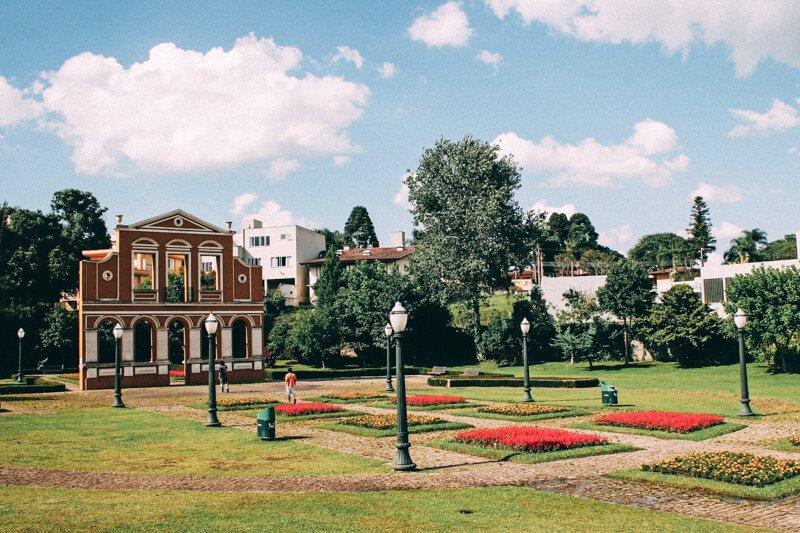 O que fazer em Curitiba - Bosque Alemão