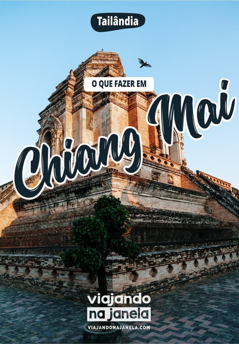 Ching Mai, Tailândia - Pin