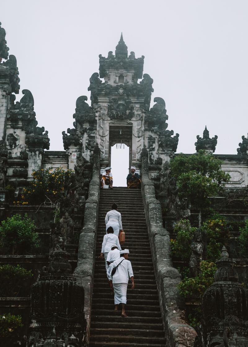 Amed, Bali, Indonésia - Pura Lempuyang
