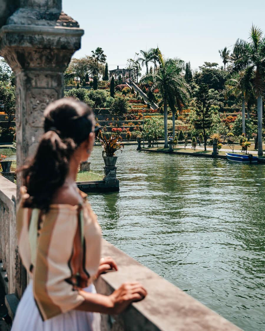 Bali, Indonésia - Taman Ujung Water Palace