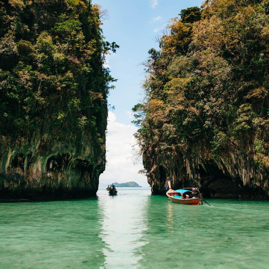 Hong Island - Saída da Lagoa