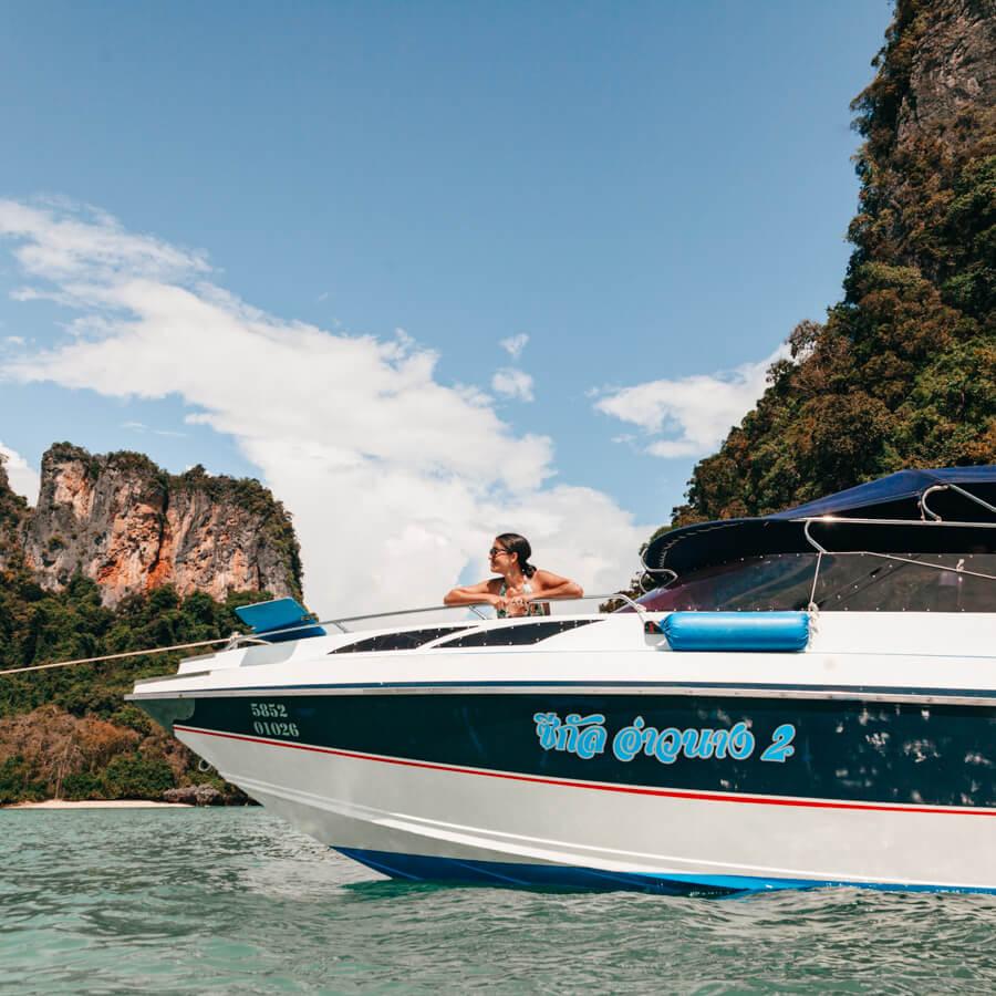 Hong Island - Speedboat