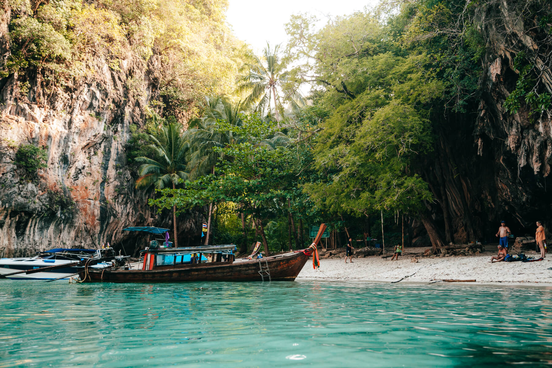 Longtail em Paradise Island - Hong Island