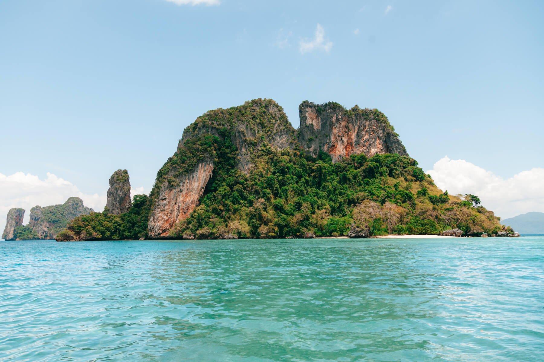 Ilha próxima à Koh Phak Bia