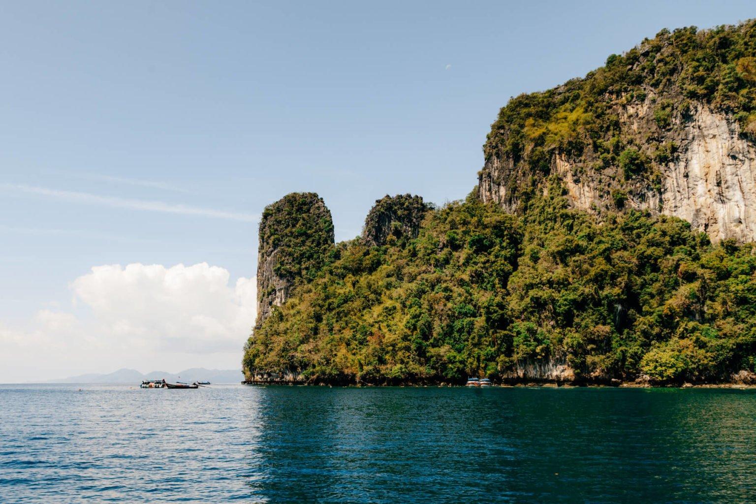 Tour Hong Island: Paredões de calcário