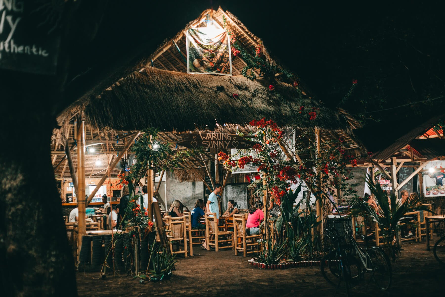 Ilhas Gili, Indonésia - Warung Sunny, em Gili Air