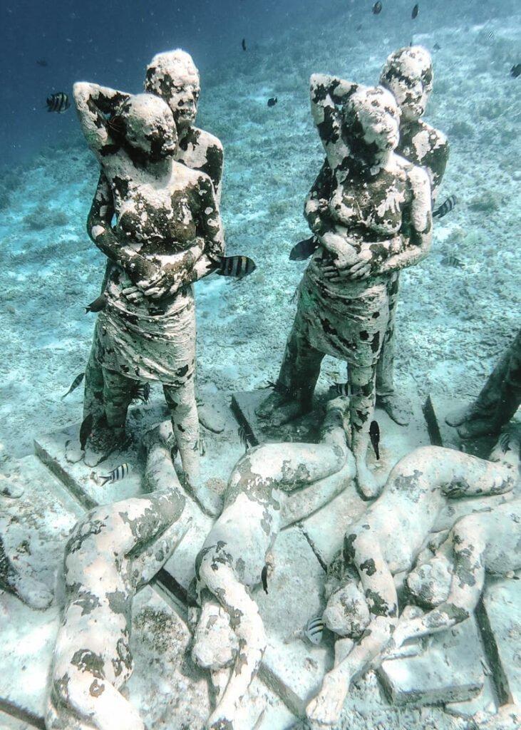 Ilhas Gili - Gili Air esculturas