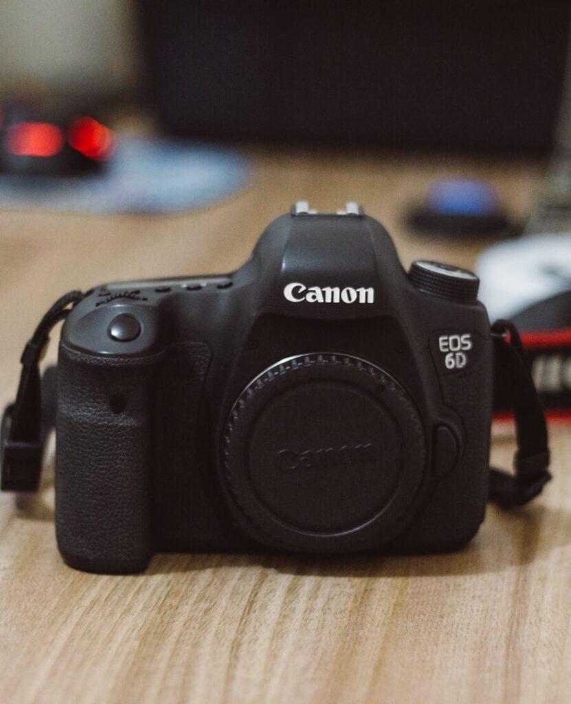Equipamentos fotográficos - fotografia de viagem - camera 6d
