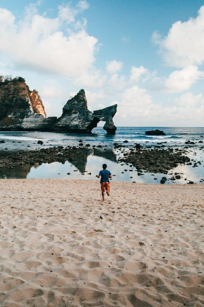 Atuh Beach, em Nusa Penida