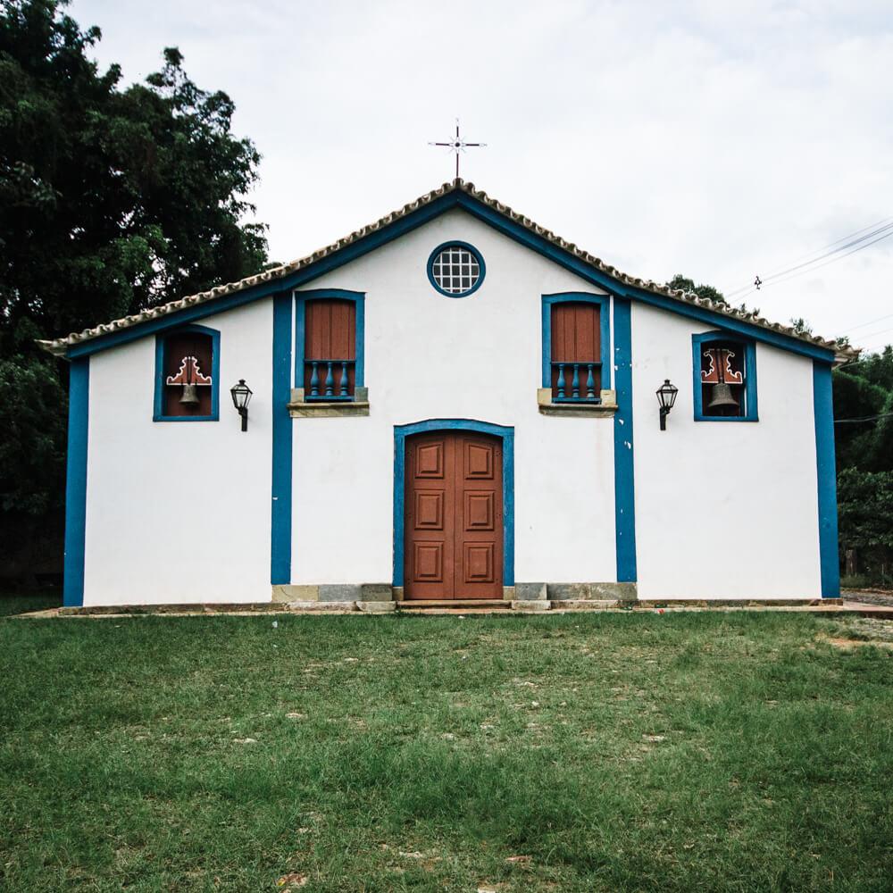 Tiradentes MG - Capela São Francisco de Paula