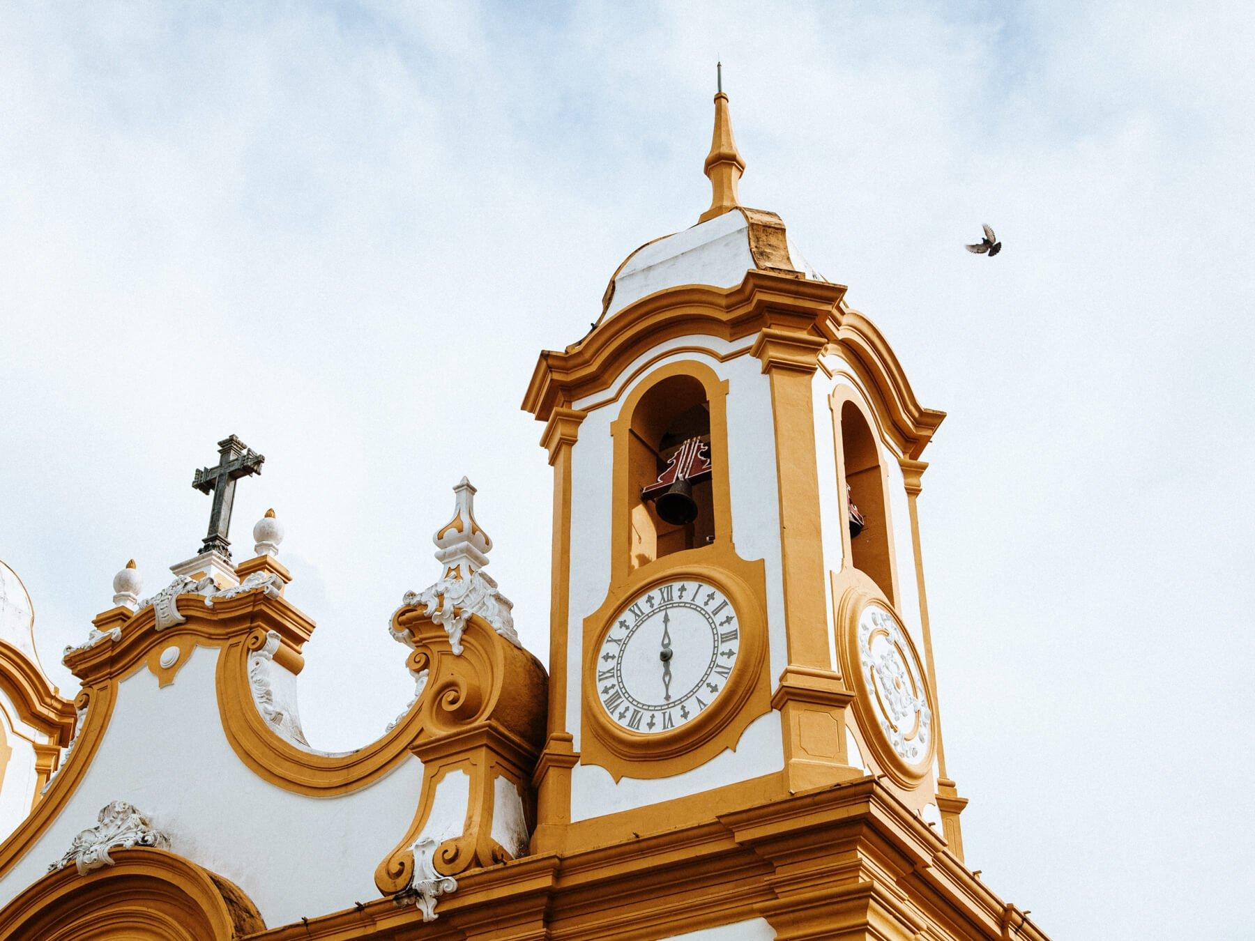 Tiradentes MG: Matriz de Santo Antonio
