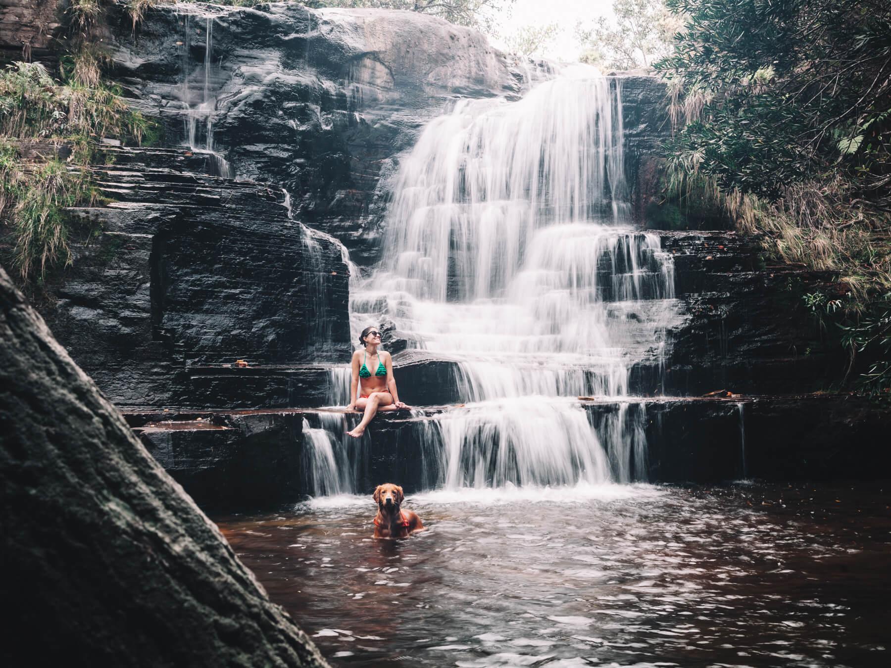 Carrancas MG - Cachoeira do Salomão