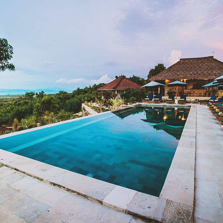 Onde ficar em Nusa Lembongan - bukit