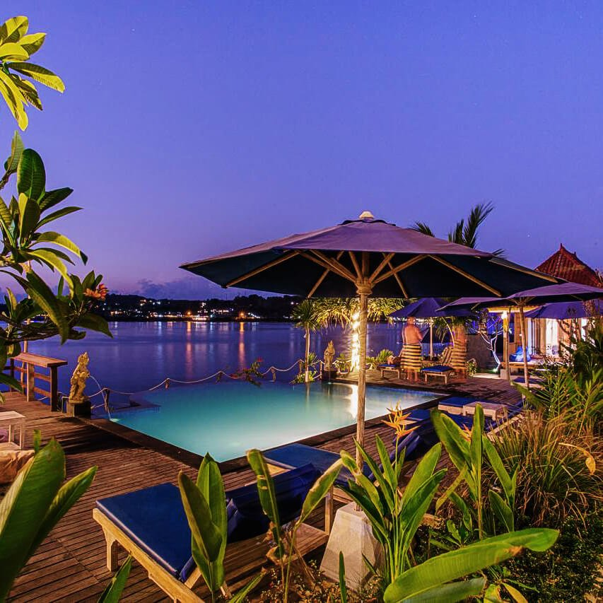 Onde ficar em Nusa Ceningan - Veranda