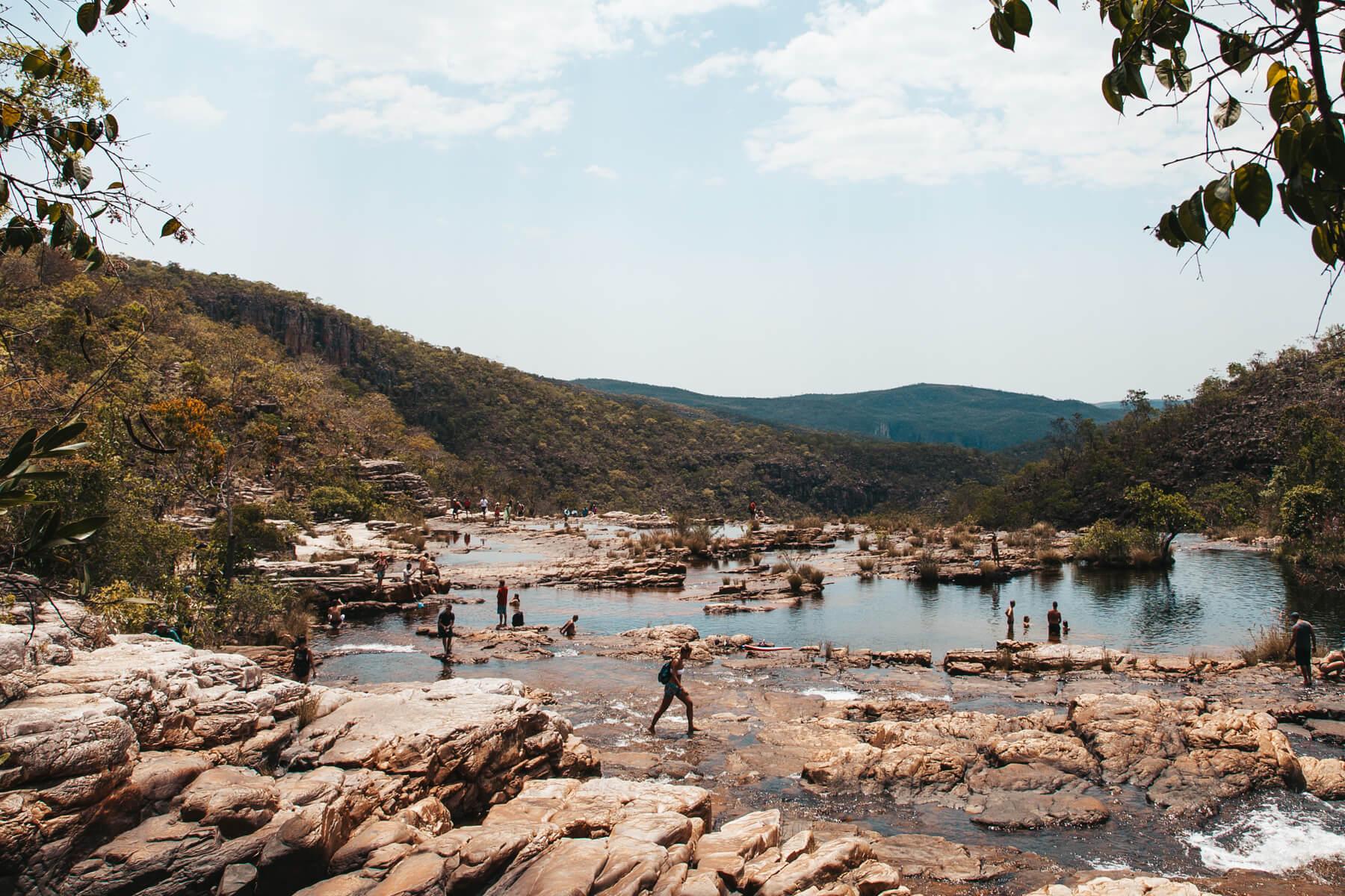 Catarata dos Couros: Chegando na Cachoeira São Vicente
