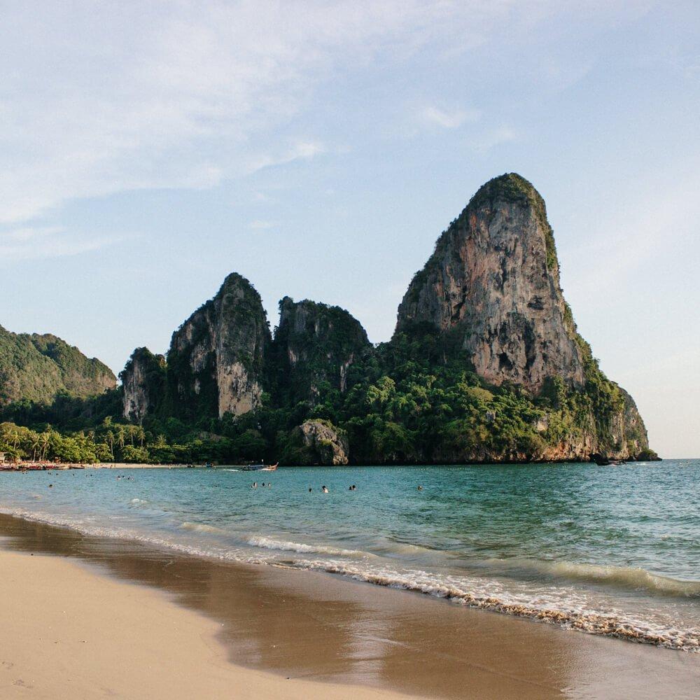 Roteiro Tailandia: Railay Beach paisagem