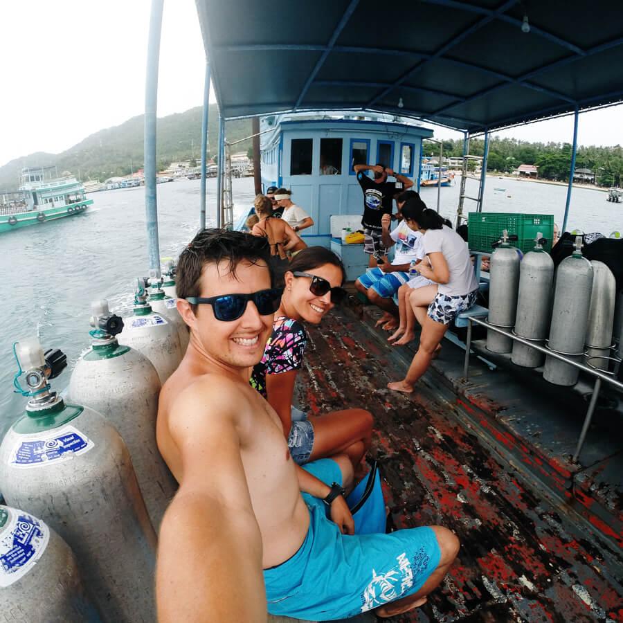 roteiro tailandia - mergulho koh tao