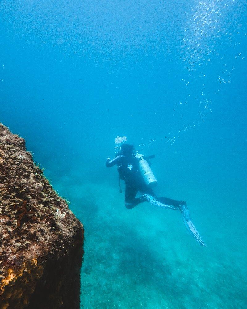 Mergulho em Arraial